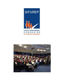 Nouveau bureau du Sifurep